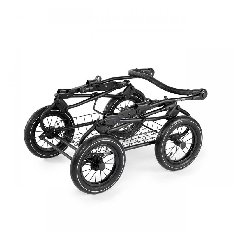 Nordic Crown promenade black chassis folded