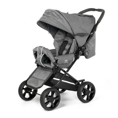 Nordic Crown stroller race in dark grey melange