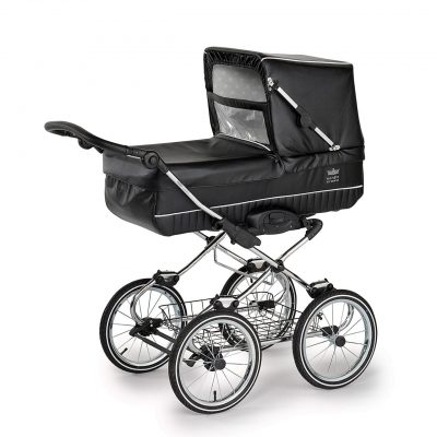 Nordic Crown stroller elegant in leather simulation