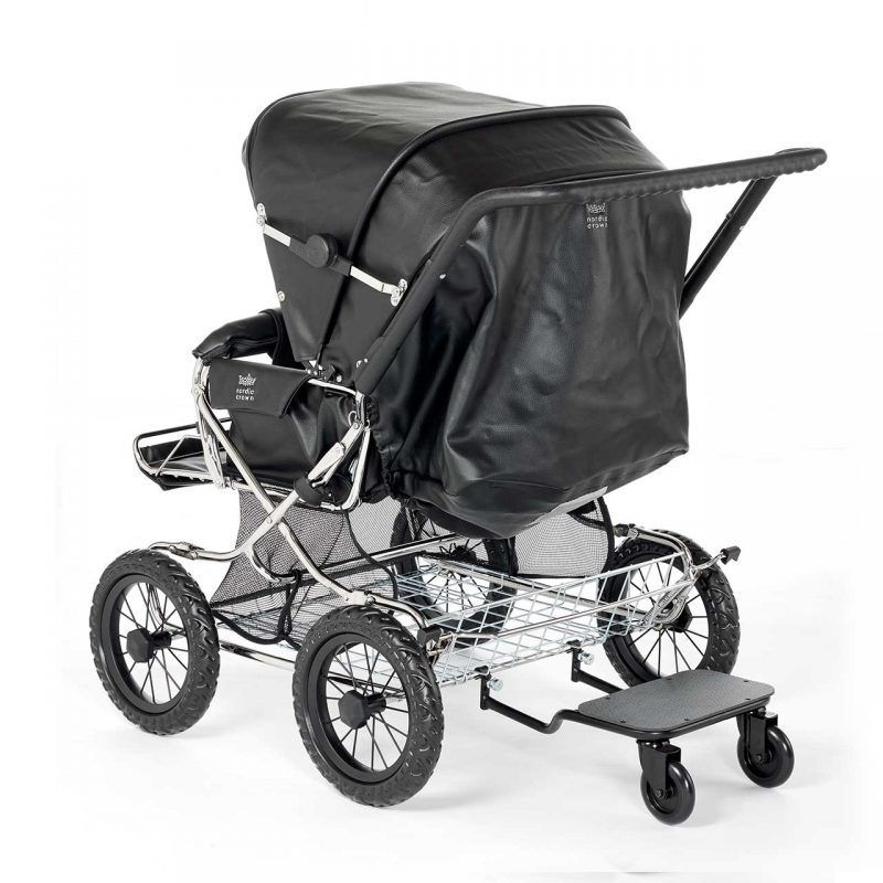 Nordic Crown stroller duette back stand
