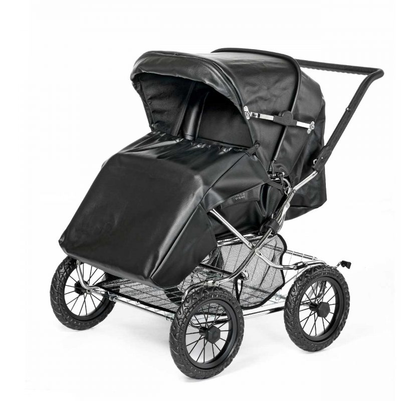 Nordic Crown stroller duette comes with footmuff