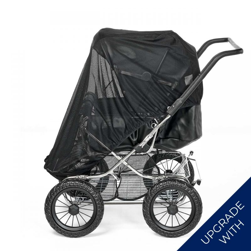Nordic Crown stroller duette with additional mosquito net