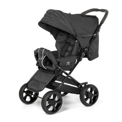Nordic Crown stroller race in black
