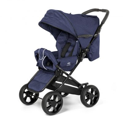 Nordic Crown stroller race in blue