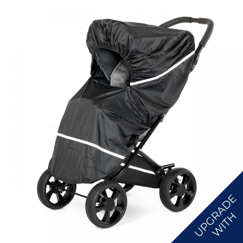 Nordic Crown race stroller with additional rain cover
