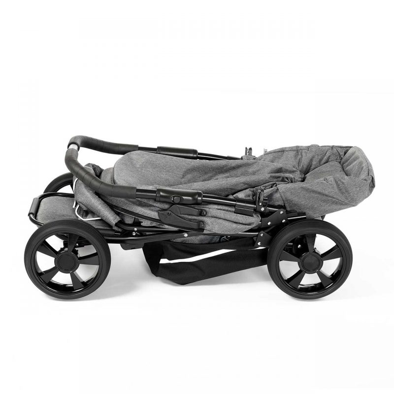 Nordic Crown stroller race folded