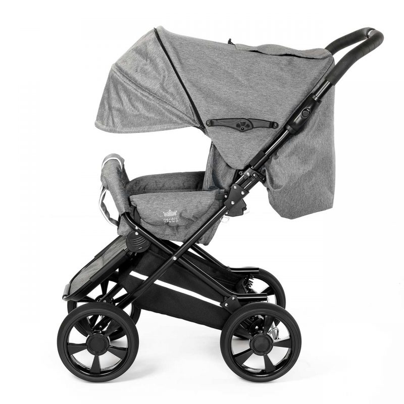 Nordic Crown stroller race hood unfolded