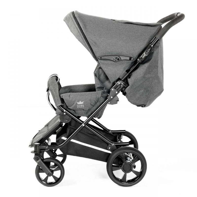 Nordic Crown spin stroller with hood