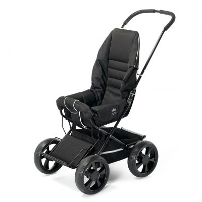 Nordic Crown stroller sporty in black