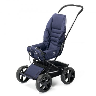Nordic Crown stroller sporty in blue