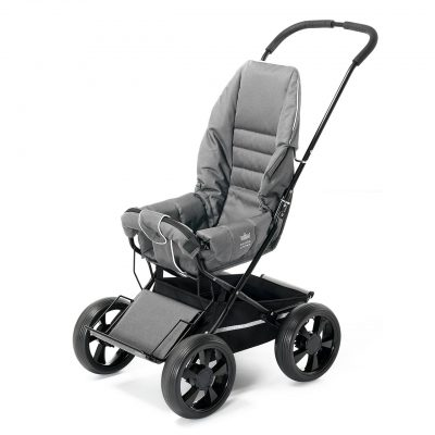 Nordic Crown stroller sporty in grey melange