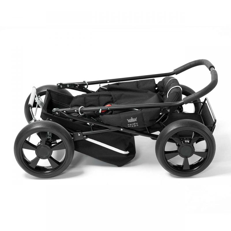 Nordic Crown sporty stroller folded