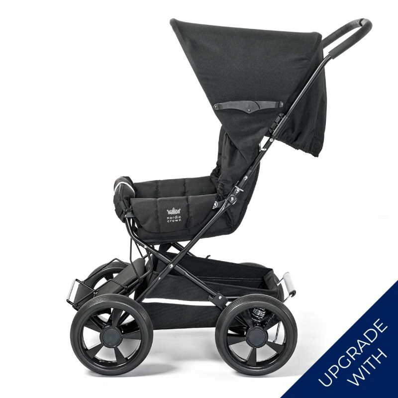 Nordic Crown sporty stroller with additional hood