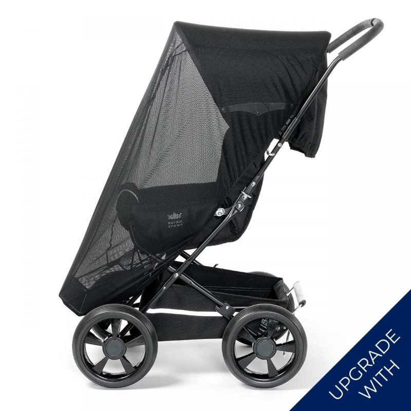 Nordic Crown sporty stroller with additional mosquito net
