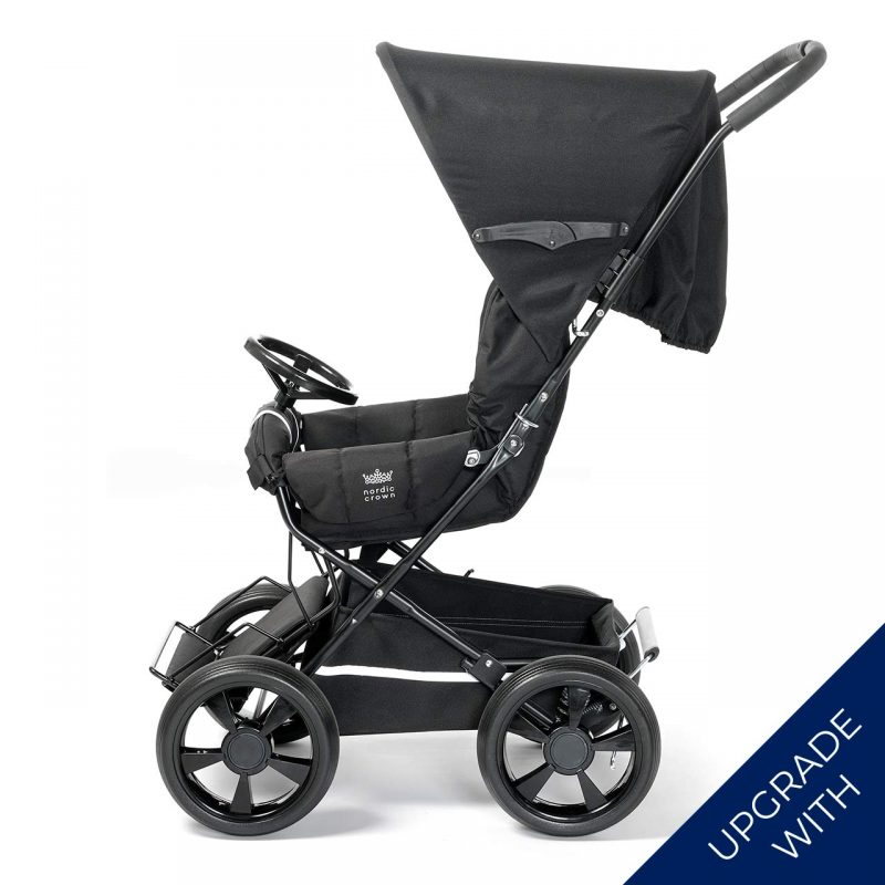 Nordic Crown sporty stroller with additional wheel