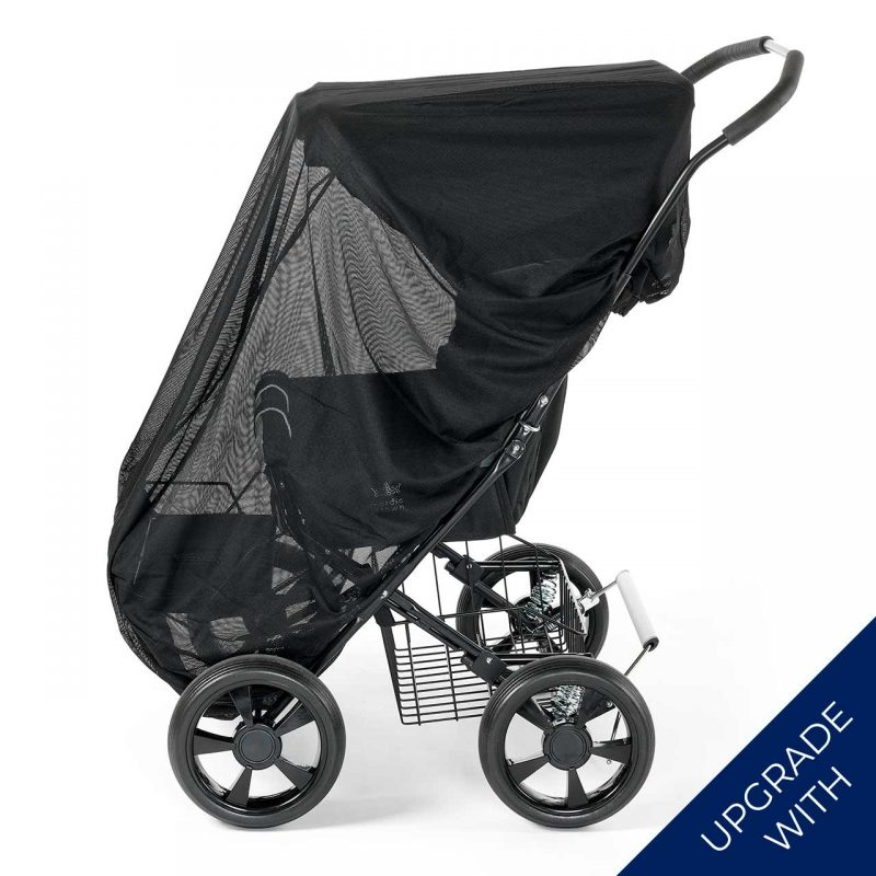 Nordic Crown stroller twinsitty with additional mosquito ne