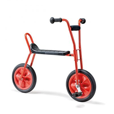 Red bike for kids