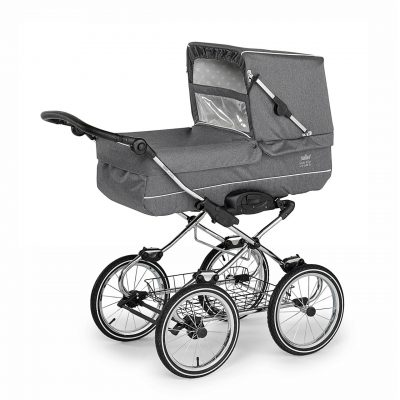 Nordic Crown Elegant stroller in dark grey