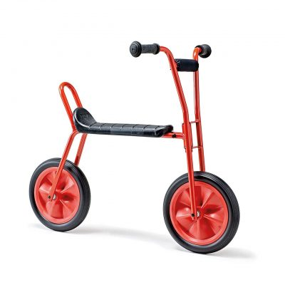 Red Balance bike bigger size