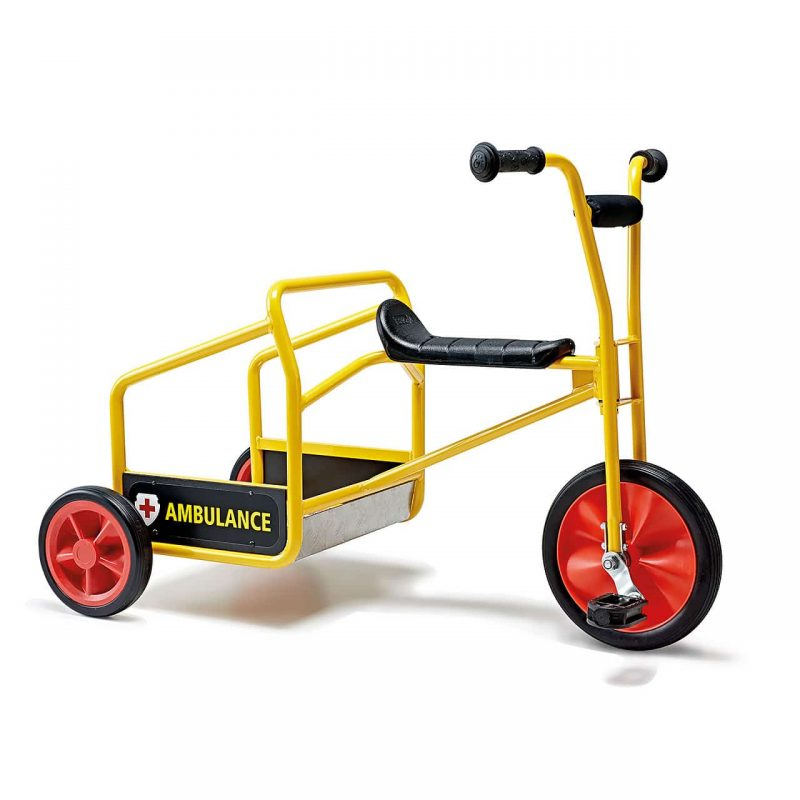 Ambulance Tricycle for social games