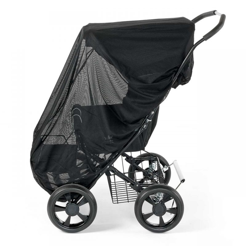 Nordic Crown mosquito net for stroller twinsitty